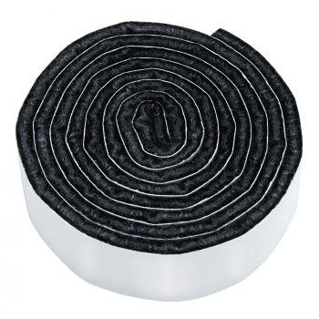 selbstklebendes Filzband zum Zuschneiden | 19x1000 mm | Schwarz | Rolle | 3.5 mm starker selbstklebender Filzzuschnitt in Top-Qualität