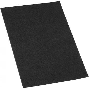 selbstklebende Filzplatte | 200x300 mm | Schwarz | rechteckig | 3.5 mm starker Filzzuschnitt in Top-Qualität von Adsamm®
