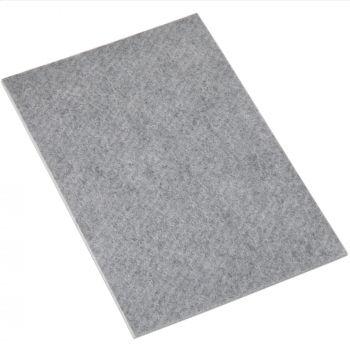Filzgleiter | 200x300 mm | Grau | rechteckig | 3.5 mm starke selbstklebende Filz-Möbelgleiter in Top-Qualität