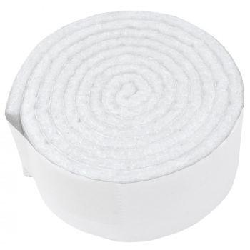 selbstklebendes Filzband zum Zuschneiden | 29x1000 mm | Weiß | Rolle | 3.5 mm starker selbstklebender Filzzuschnitt in Top-Qualität