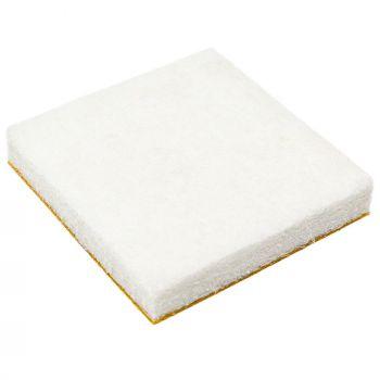 4 x Filzgleiter   30x30 mm   Weiß   quadratisch   5.5 mm starke selbstklebende Möbelgleiter in Premium-Qualität von Adsamm®