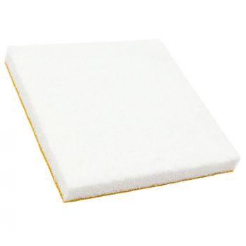 16 x Filzgleiter   45x45 mm   Weiß   quadratisch   5.5 mm starke selbstklebende Möbelgleiter in Premium-Qualität von Adsamm®